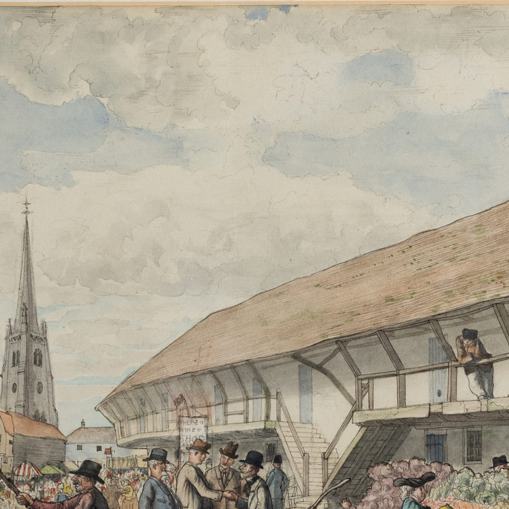 Market Day by George Charlton-136497