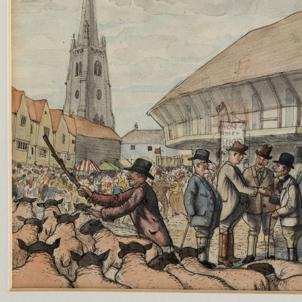 Market Day by George Charlton