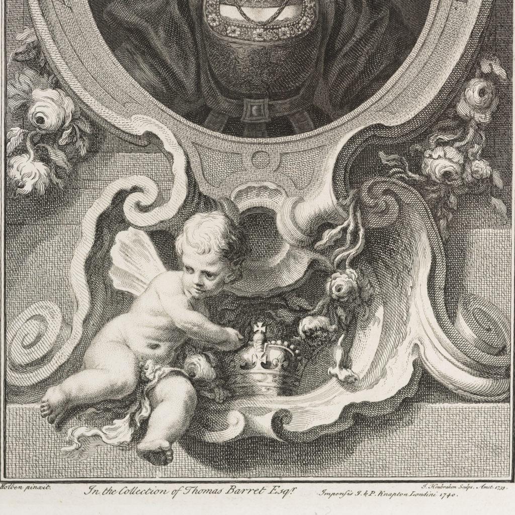 Copper-engravings by Jacobus Houbraken,-137216