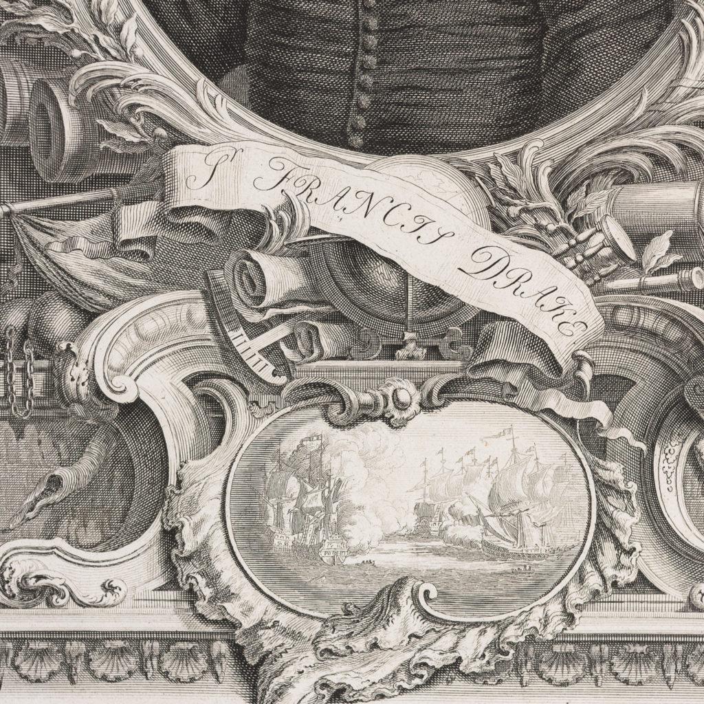 Copper-engravings by Jacobus Houbraken,-137233