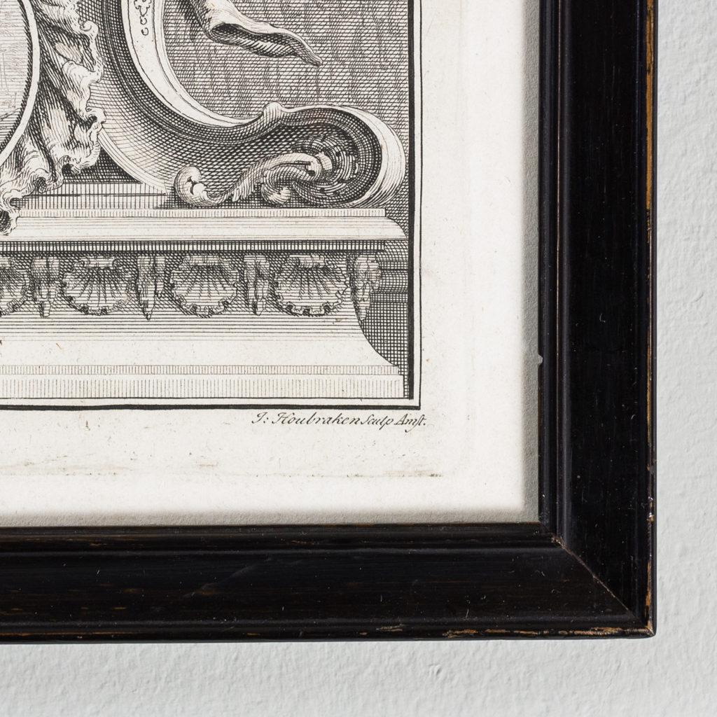 Copper-engravings by Jacobus Houbraken,-137234