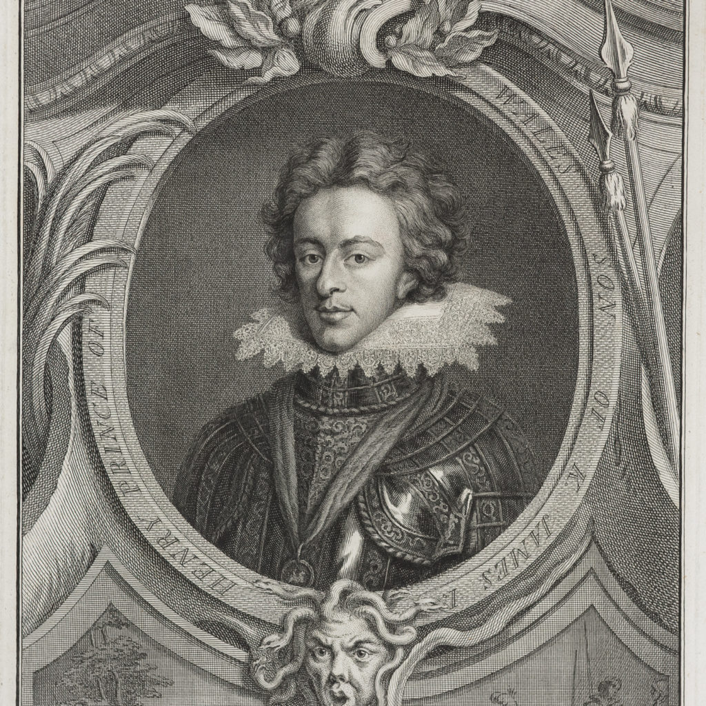 Henry Prince of Wales, Son of King James I