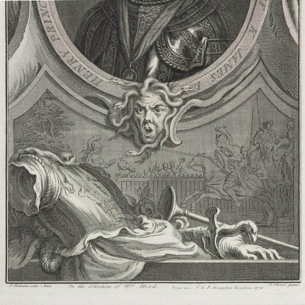 Copper-engravings by Jacobus Houbraken,-137248