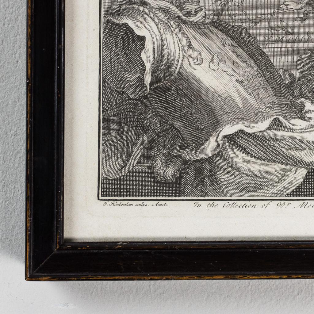 Copper-engravings by Jacobus Houbraken,-137250