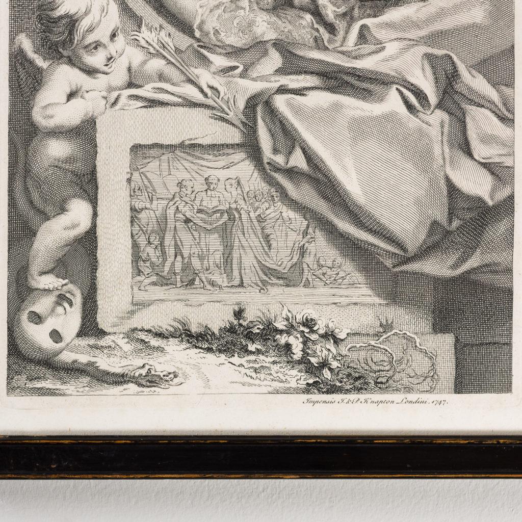 Copper-engravings by Jacobus Houbraken,-137198