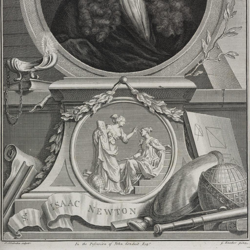 Copper-engravings by Jacobus Houbraken,-137274