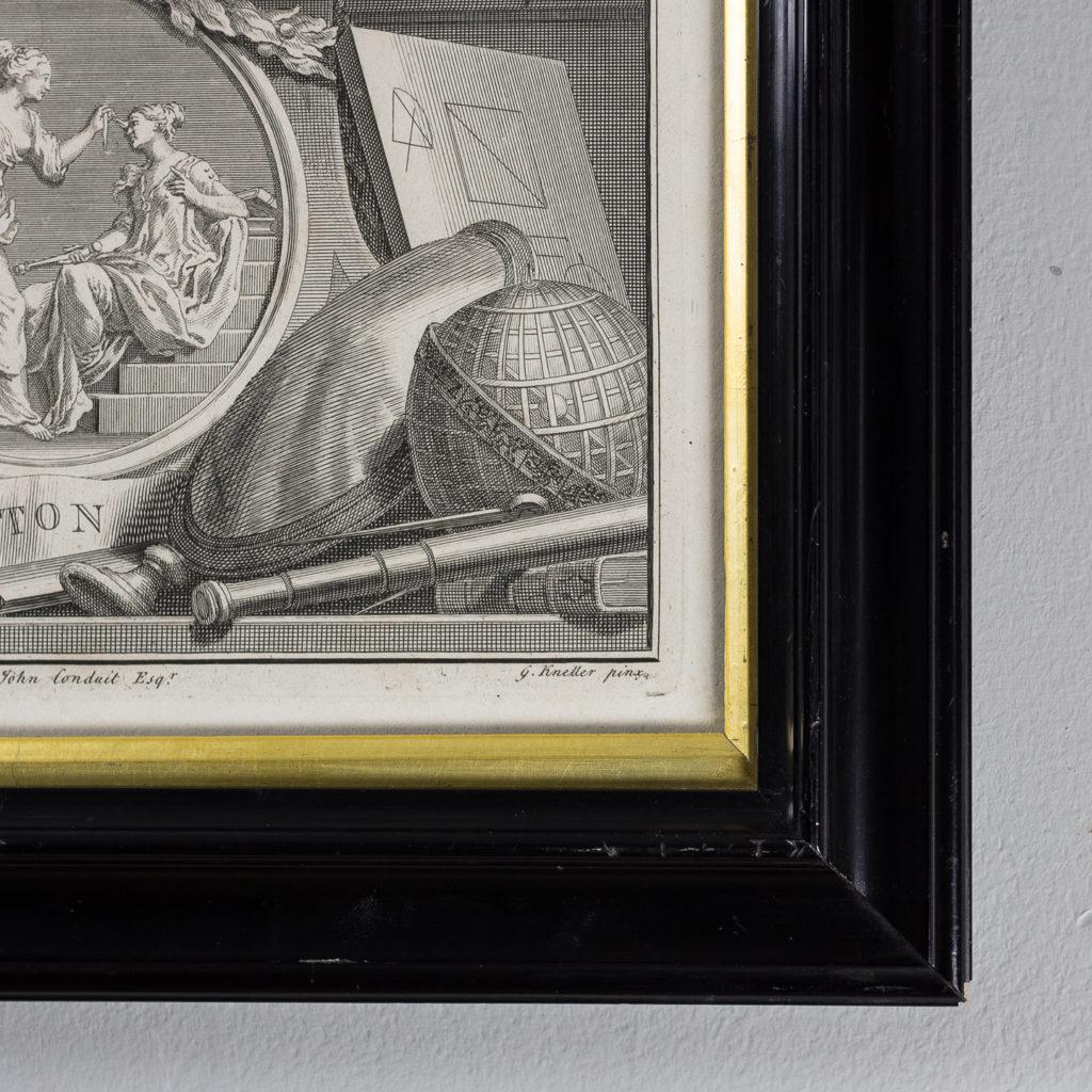Copper-engravings by Jacobus Houbraken,-137276