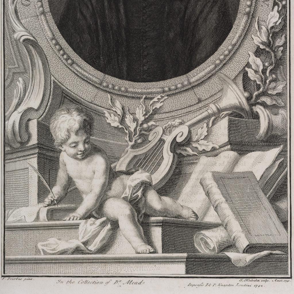 Copper-engravings by Jacobus Houbraken,-137283