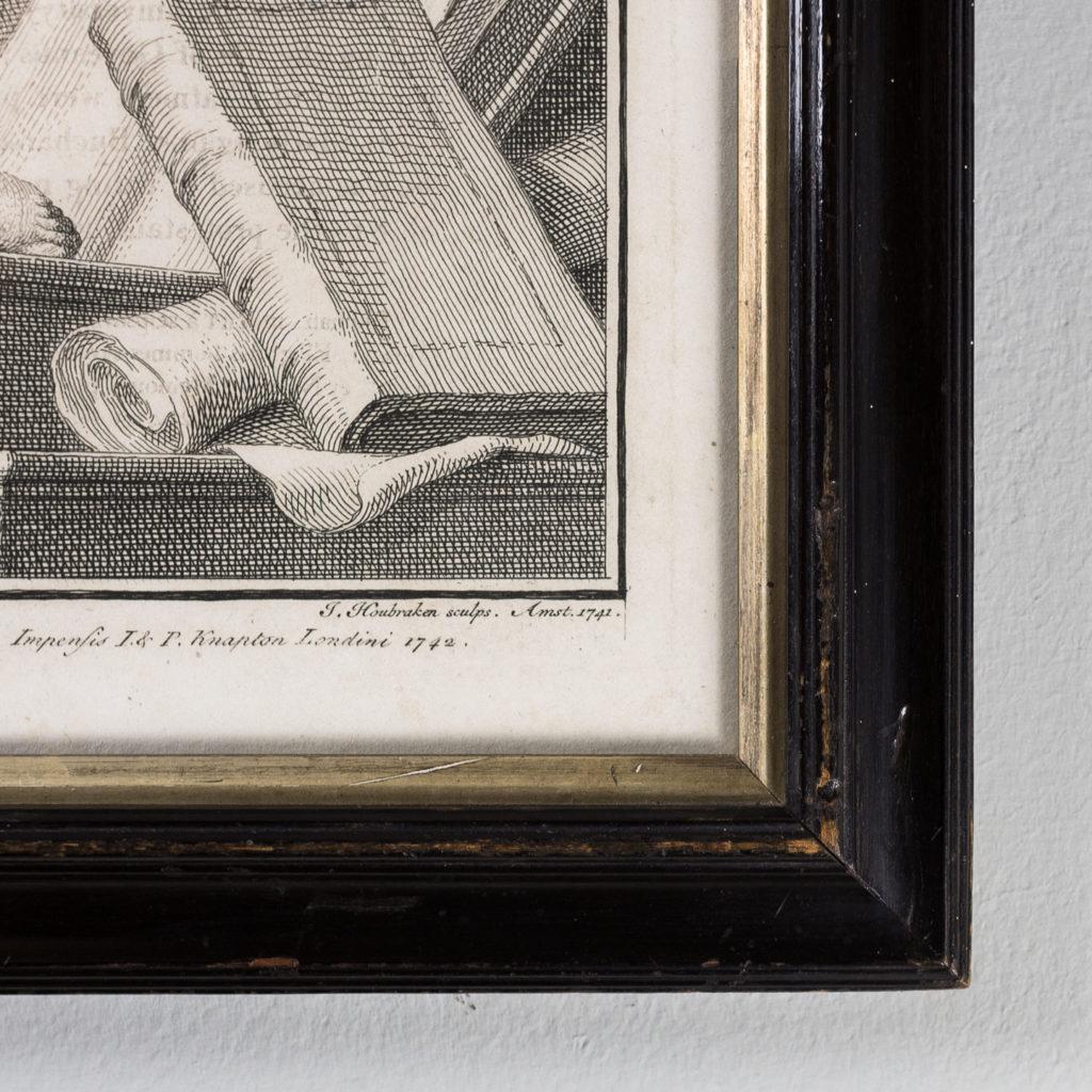 Copper-engravings by Jacobus Houbraken,-137284