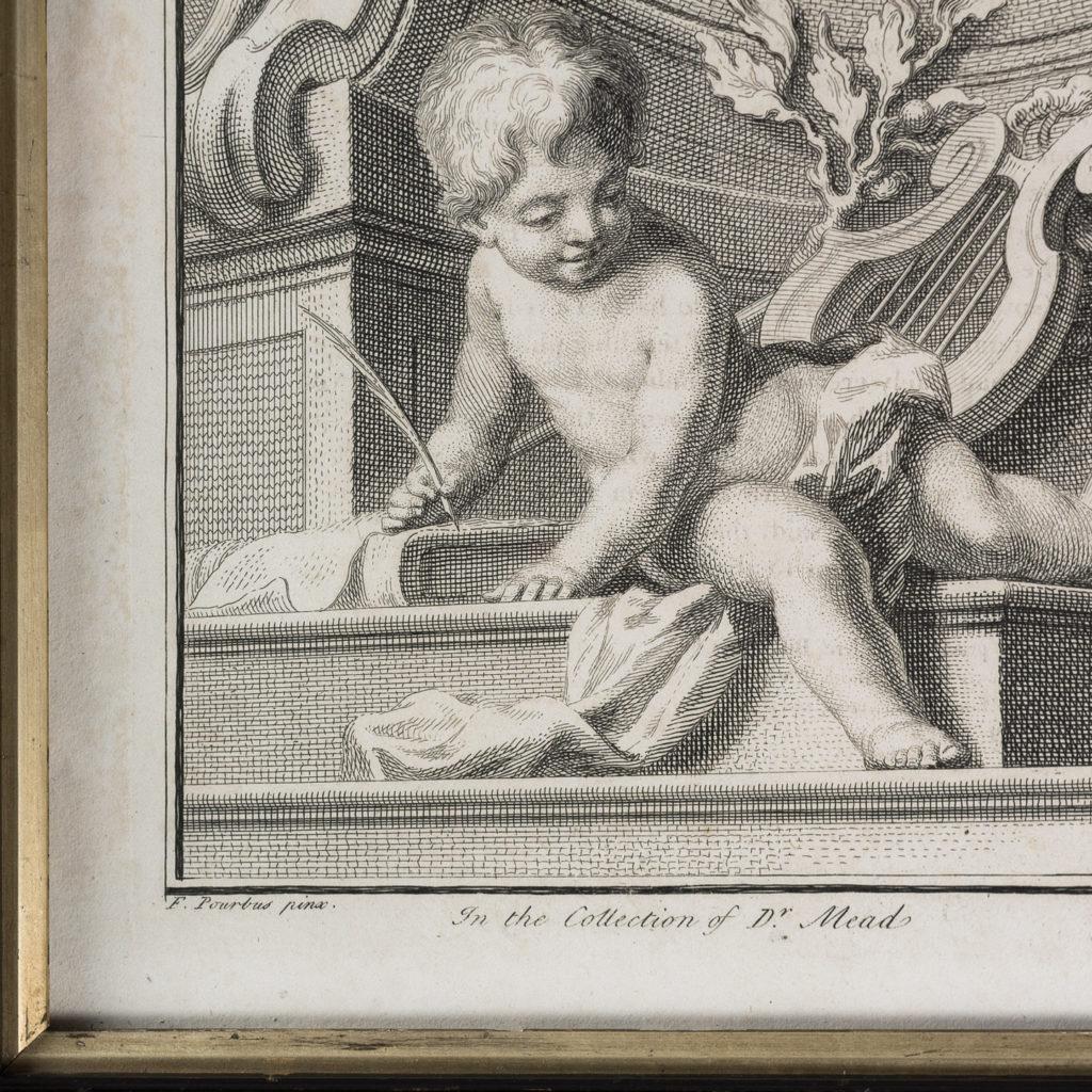 Copper-engravings by Jacobus Houbraken,-137285