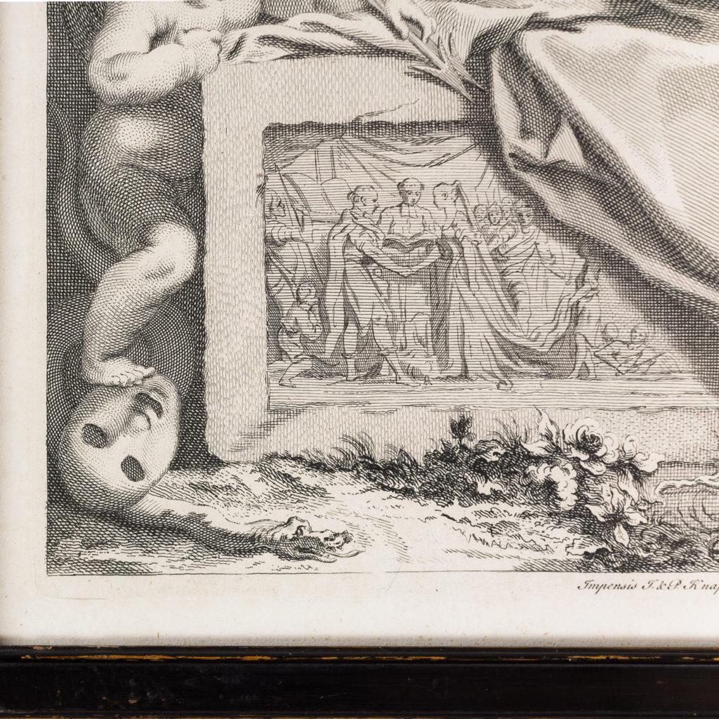 Copper-engravings by Jacobus Houbraken,-137200