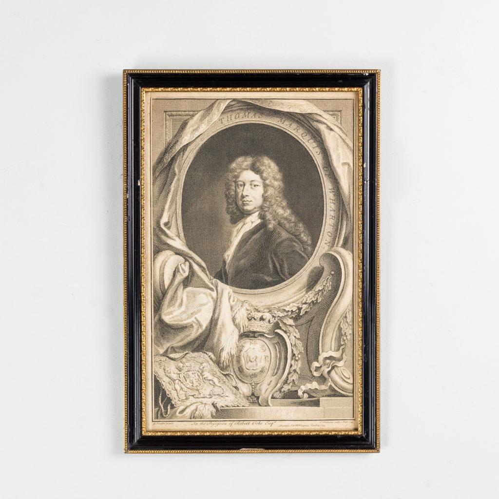 Copper-engravings by Jacobus Houbraken,