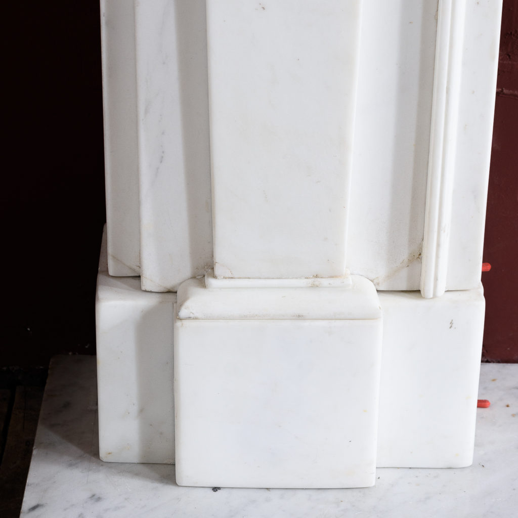 Regency Statuary marble fireplace, -137378