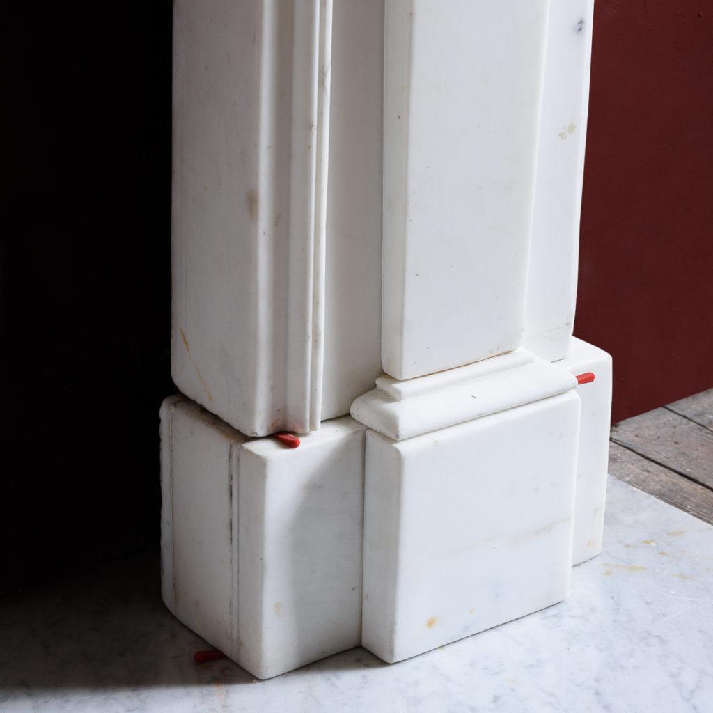 Regency Statuary marble fireplace, -137380