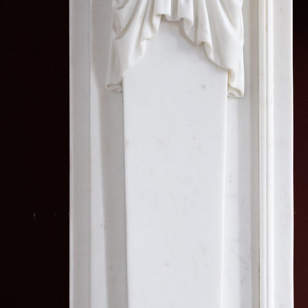 Regency Statuary marble fireplace, -137377