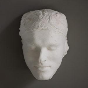 Life mask of a sculptor
