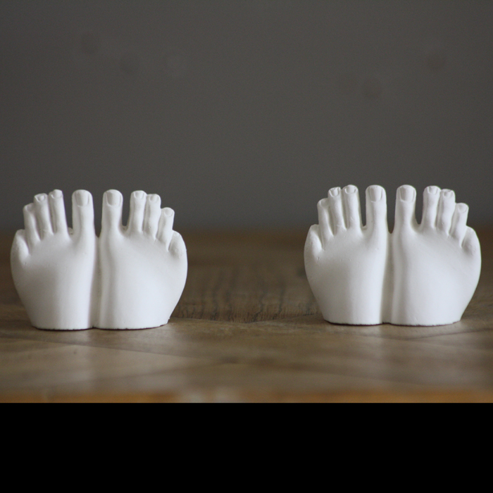 caryatid feet