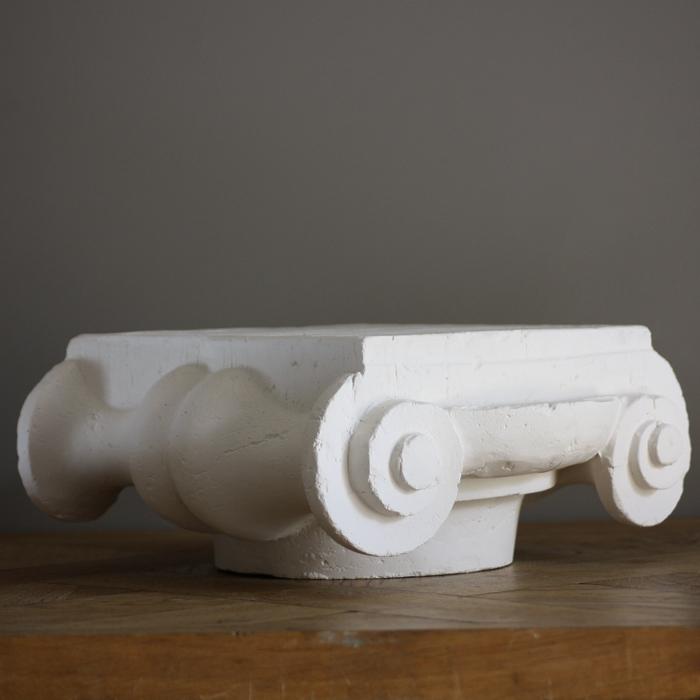 plaster Greek ionic capital