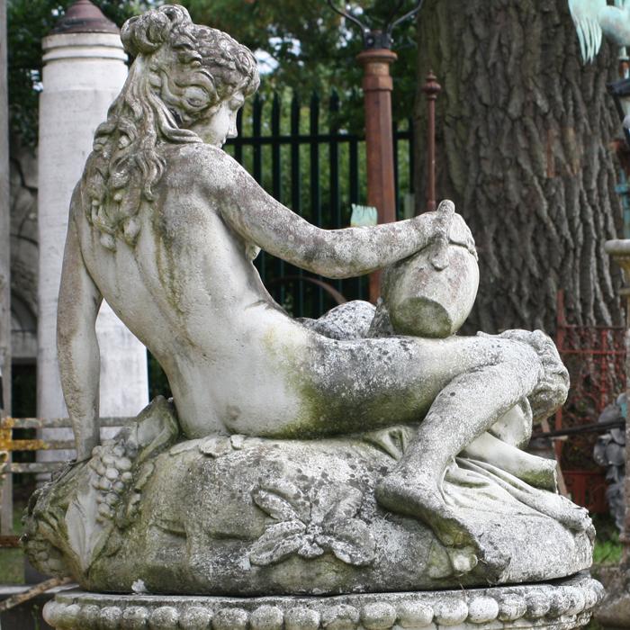 figural fountain