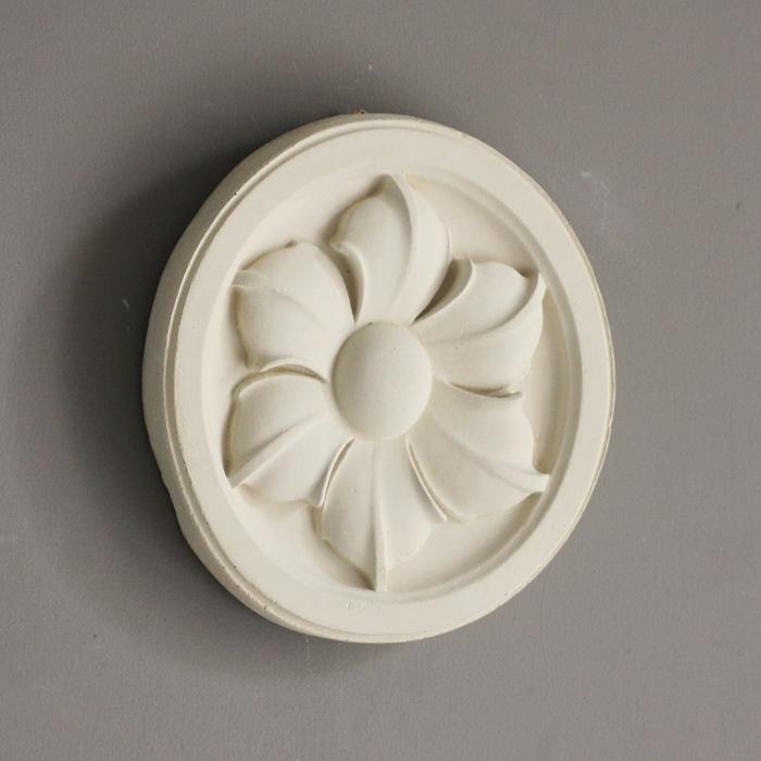 hexapetalous stone roundel
