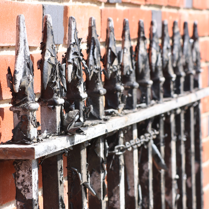 Victorian railing