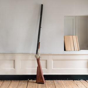Large French gun-dealer trade sign,
