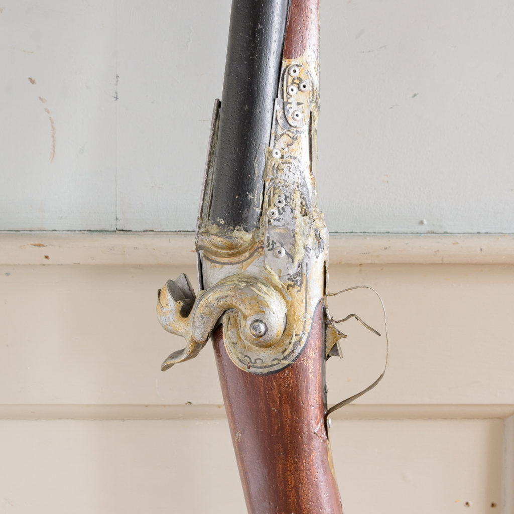 Large French gun-dealer trade sign, -137635