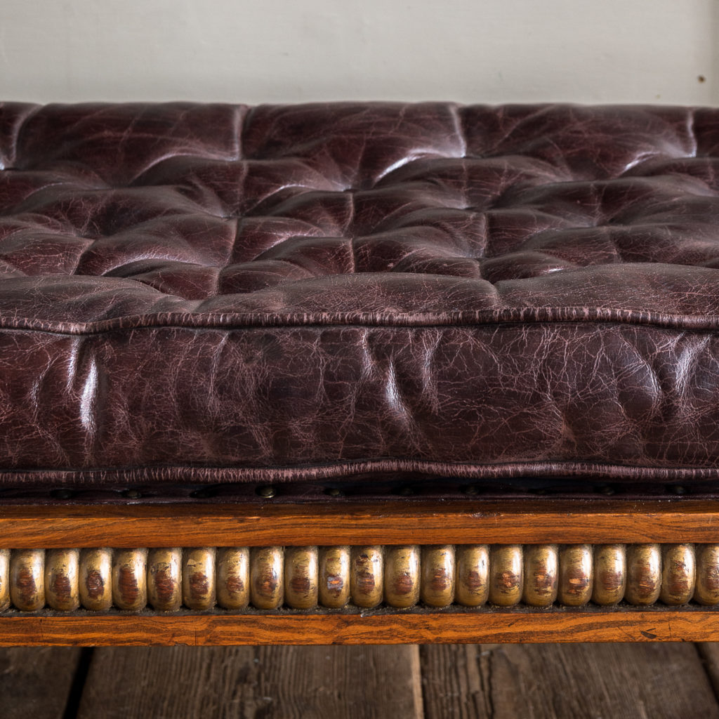 Regency faux-rosewood parcel-gilt daybed,-137704