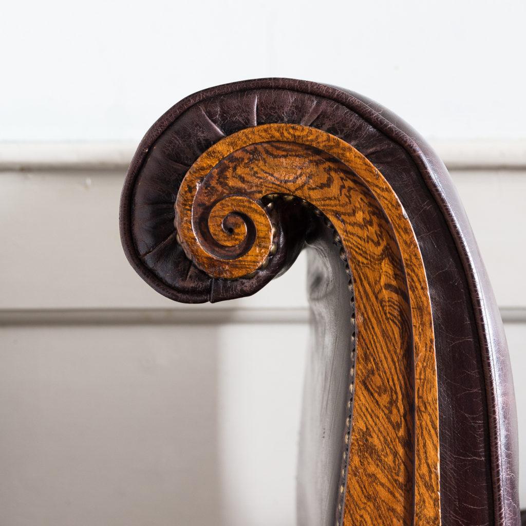 Regency faux-rosewood parcel-gilt daybed,-137706