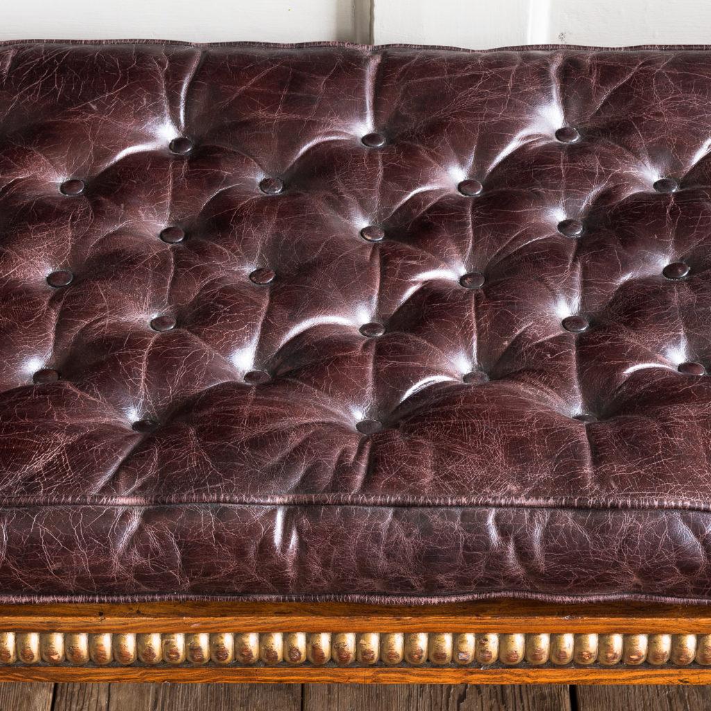 Regency faux-rosewood parcel-gilt daybed,-137710