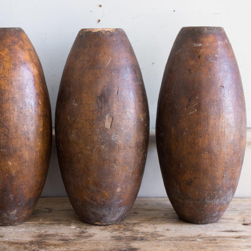 Set of six Victorian garden skittles,-138161