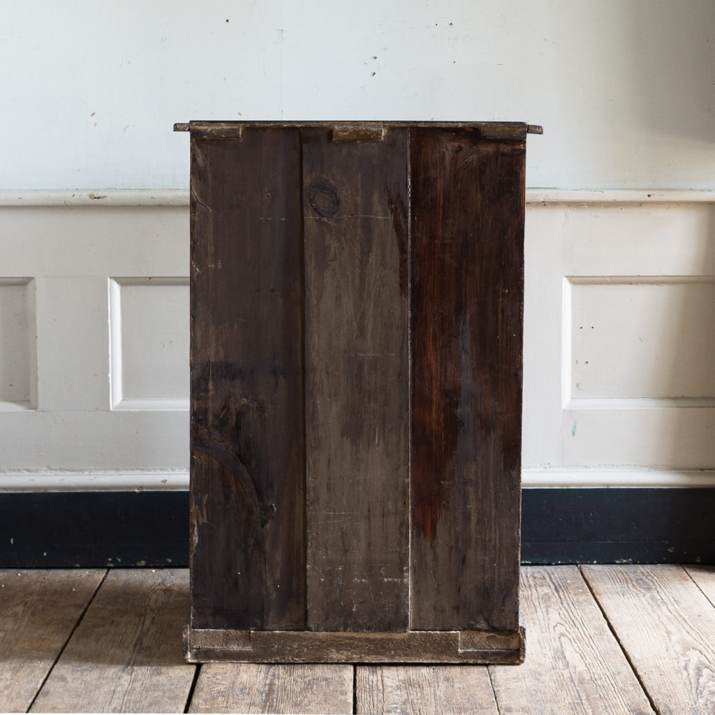 Early twentieth century stained pine cabinet,-138013