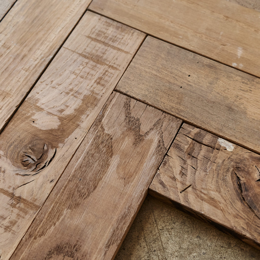 Beauvais Oak Parquet End Of Run-137410
