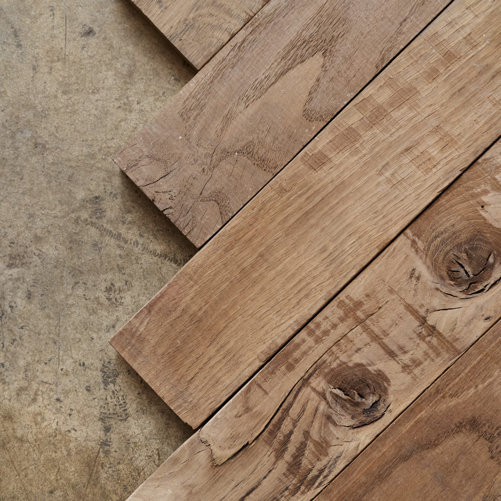 Beauvais Oak Parquet End Of Run-137411