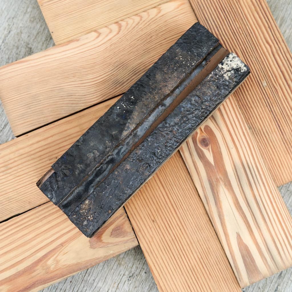Reclaimed Pitch Pine Parquet block-137790