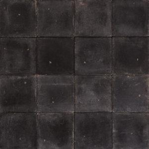 Black 6 inch quarry tiles-0