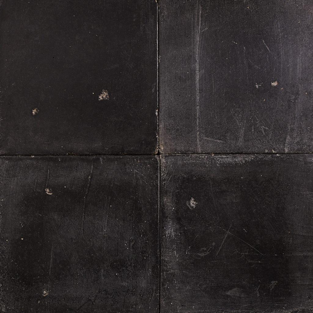 Black 6 inch quarry tiles-138066