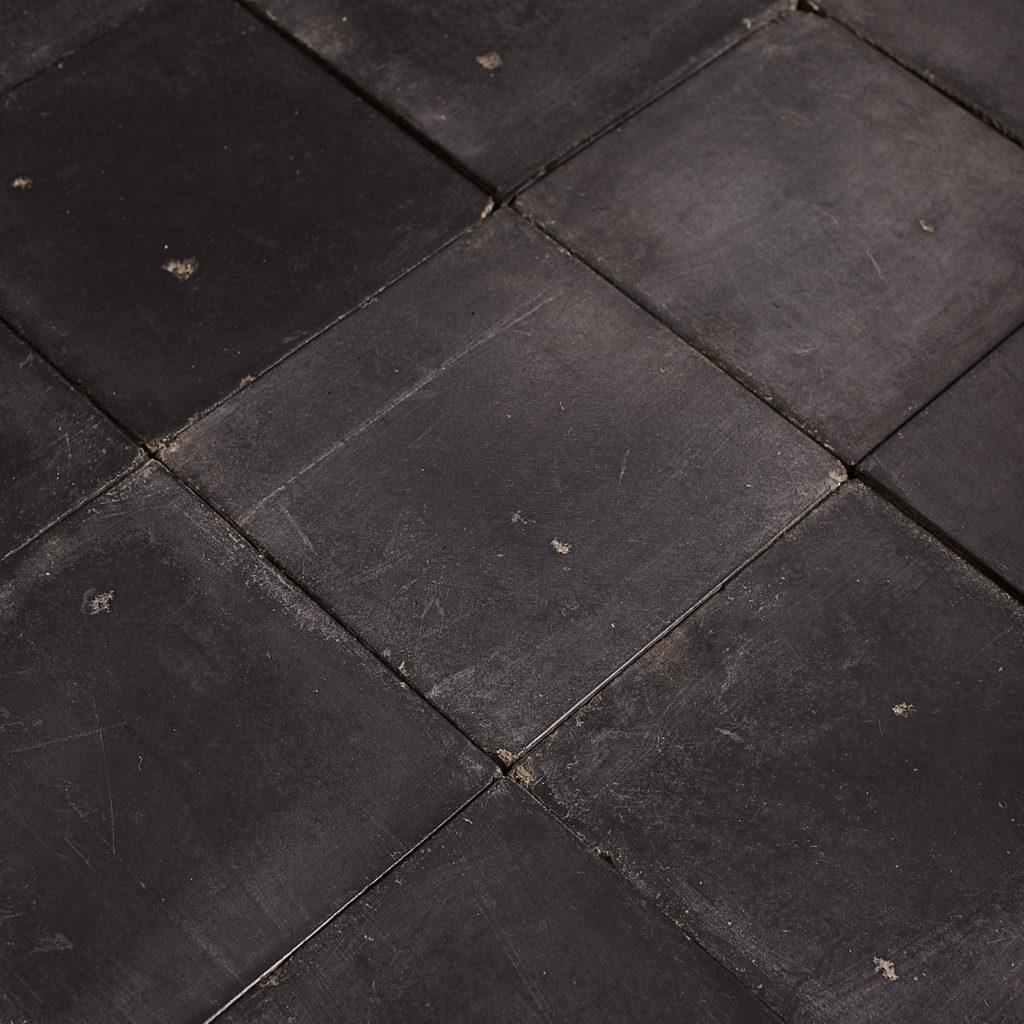 Black 6 inch quarry tiles-138064
