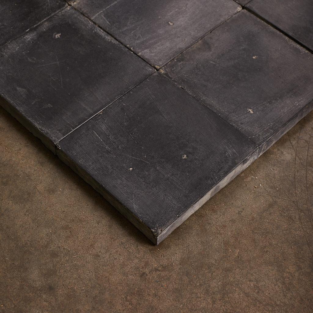 Black 6 inch quarry tiles-138067