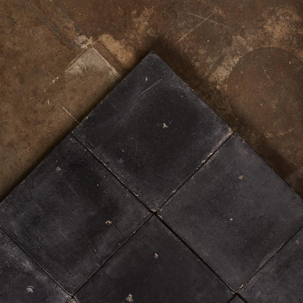 Black 6 inch quarry tiles-138068