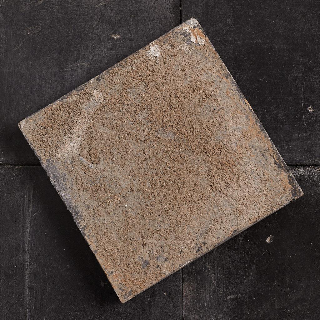 Black 6 inch quarry tiles-138069