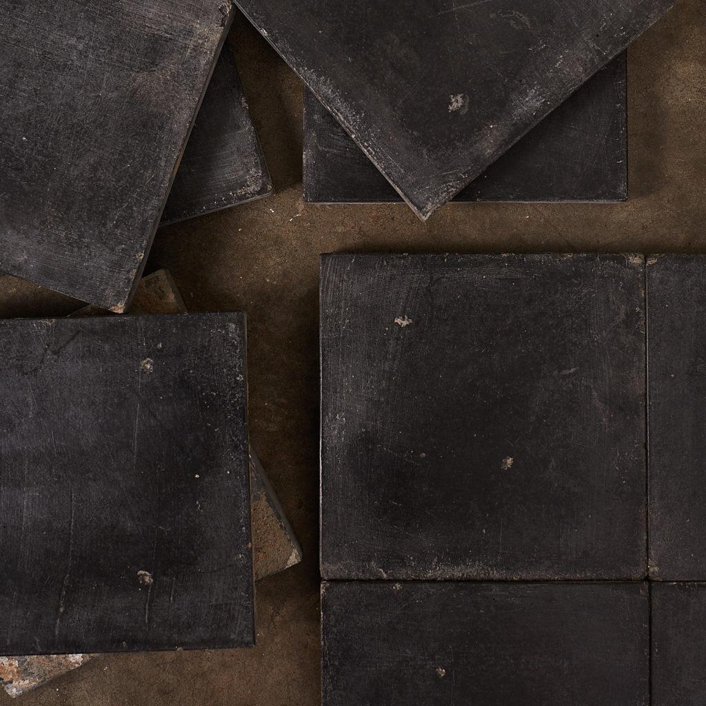 Black 6 inch quarry tiles-138070