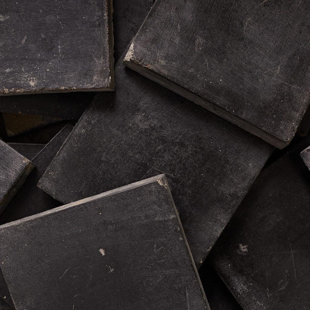 Black 6 inch quarry tiles-138071