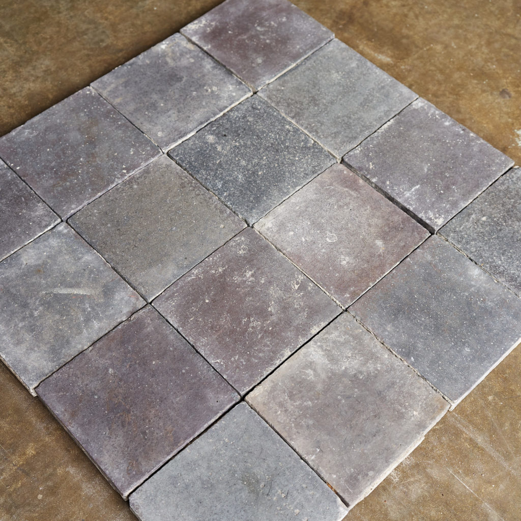 Reclaimed Staffordshire Blue 6 inch Quarry Tiles-138123
