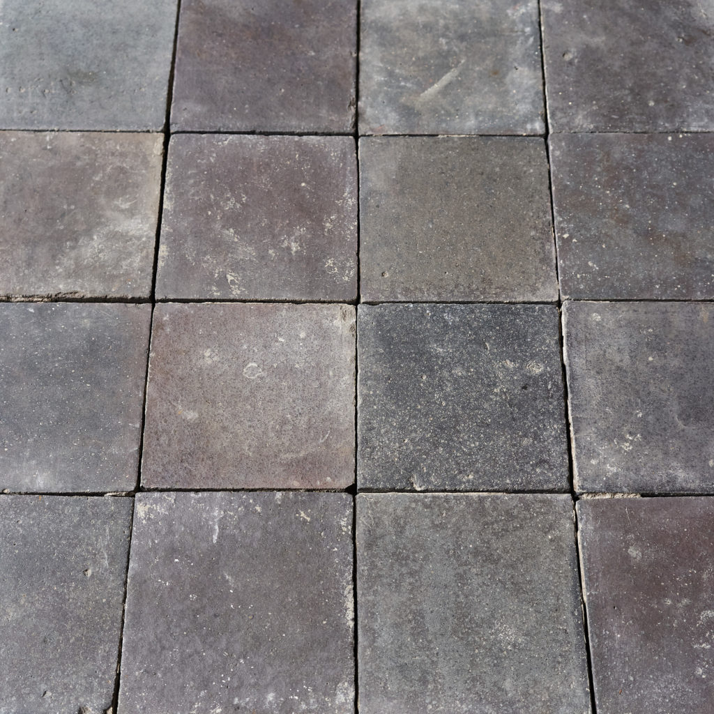 Reclaimed Staffordshire Blue 6 inch Quarry Tiles-138126