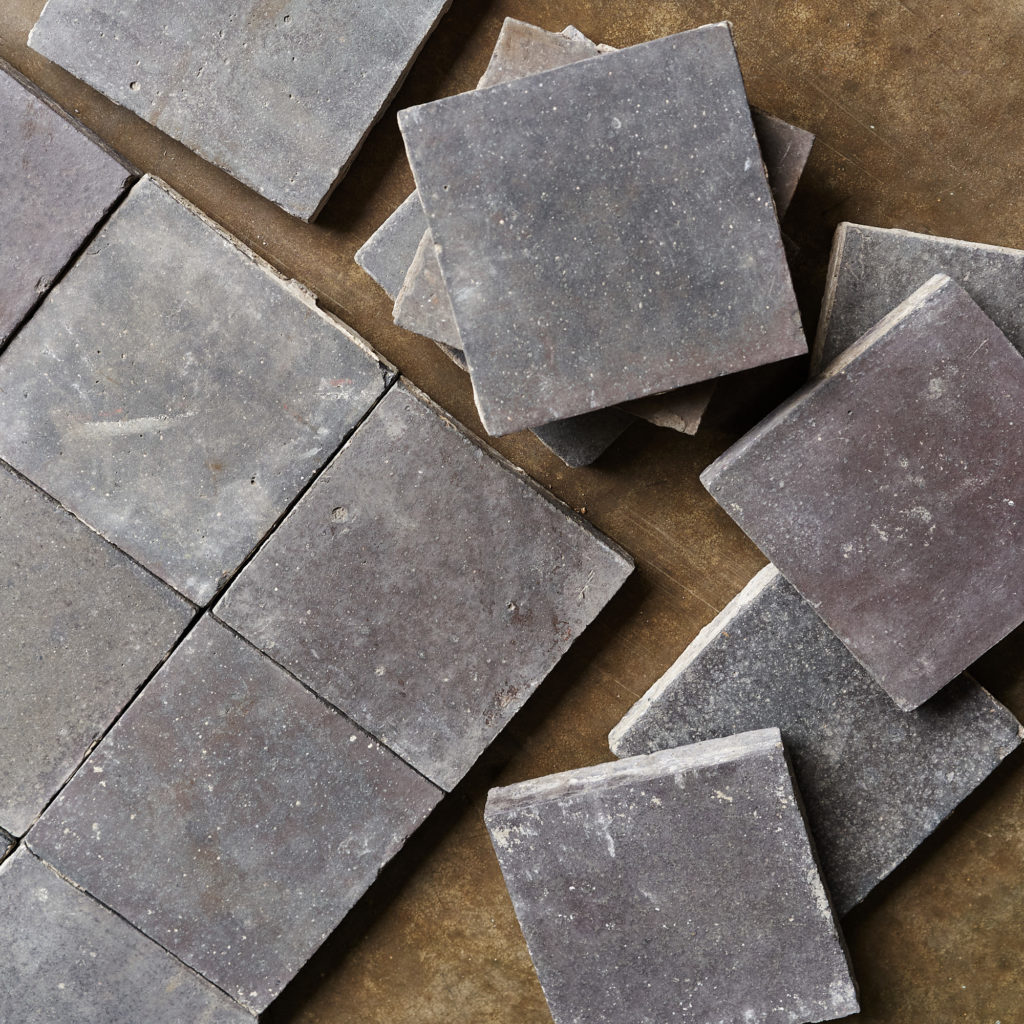 Reclaimed Staffordshire Blue 6 inch Quarry Tiles-138128