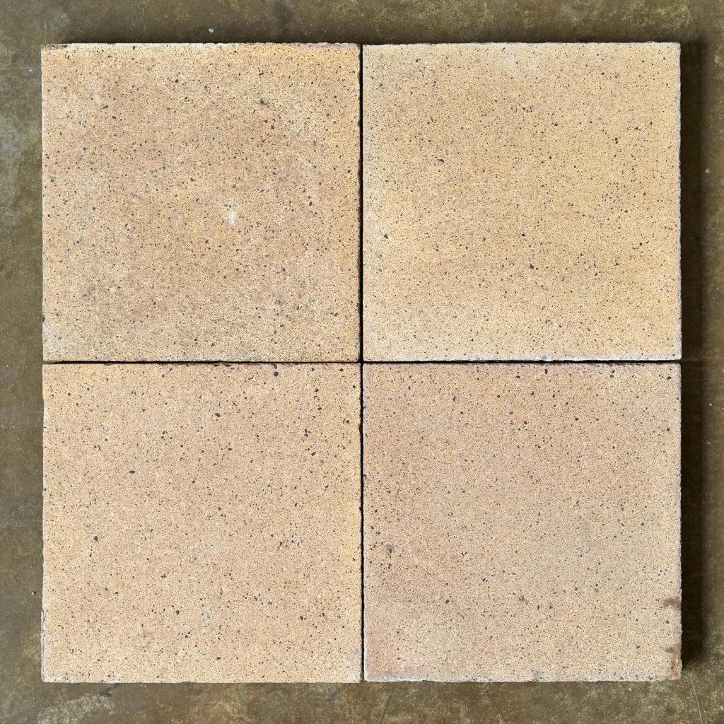 1930s Encaustic Sandy Speckled Tiles-137492