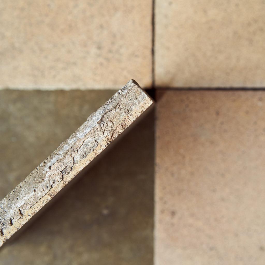 1930s Encaustic Sandy Speckled Tiles-137497