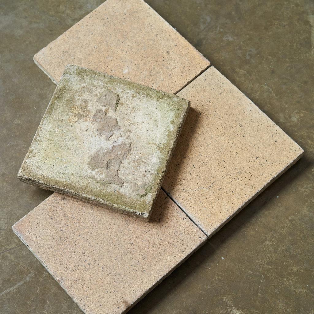 1930s Encaustic Sandy Speckled Tiles-137499