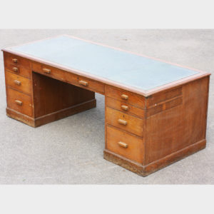 Vickers Pedestal Desk